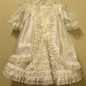 Baptism  - Christening Toddlers Gown
